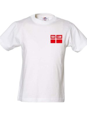 FanIam sports t shirt med 10 tal, white Damer   FANIAM.dk