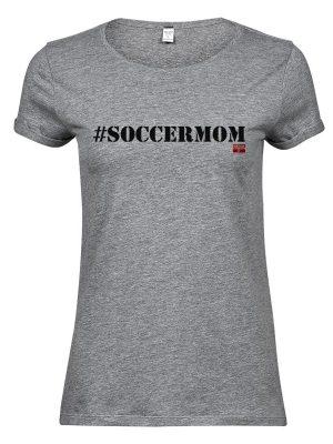 Soccermom hættetrøje i sort   FANIAM.dk