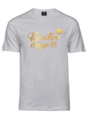 T-shirt kreative dage herre t-shirt jubilæum